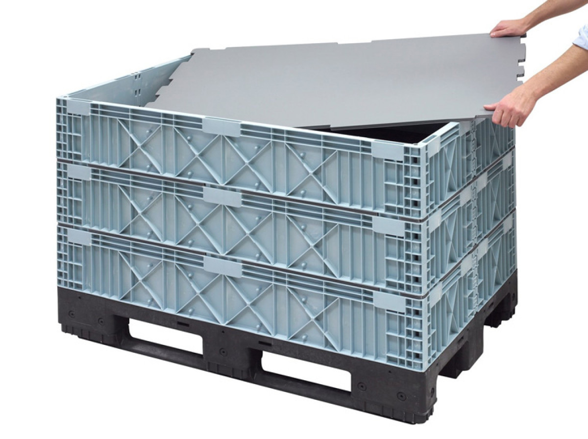 Box Mec  collapsible containers: a space saver solution