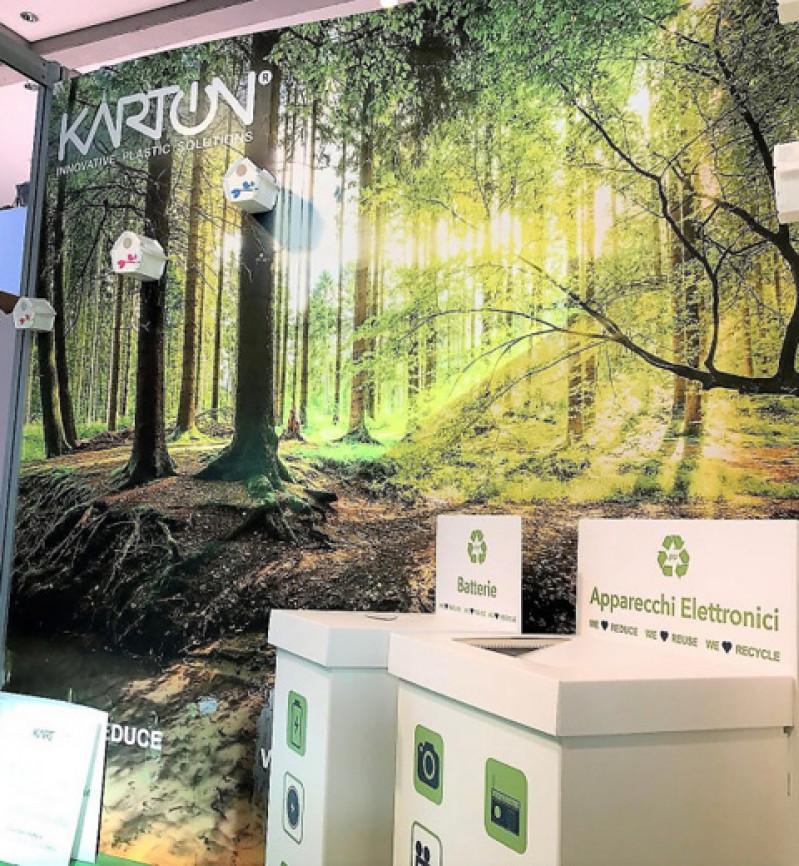 Karton presents its Reusable Packaging at Ecomondo 2017