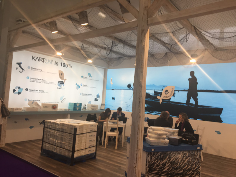 Karton participated in Seafood Expo & Processing Global in Brussels